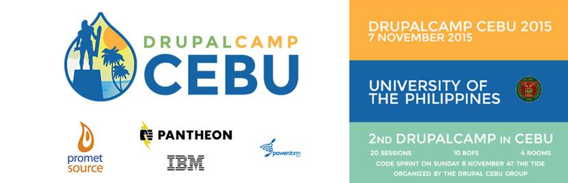Drupal Camp 2015 Cebu, UP Philippines