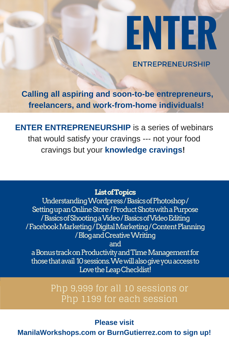 WordPress Seminar in Entrepreneurship Webinar Series