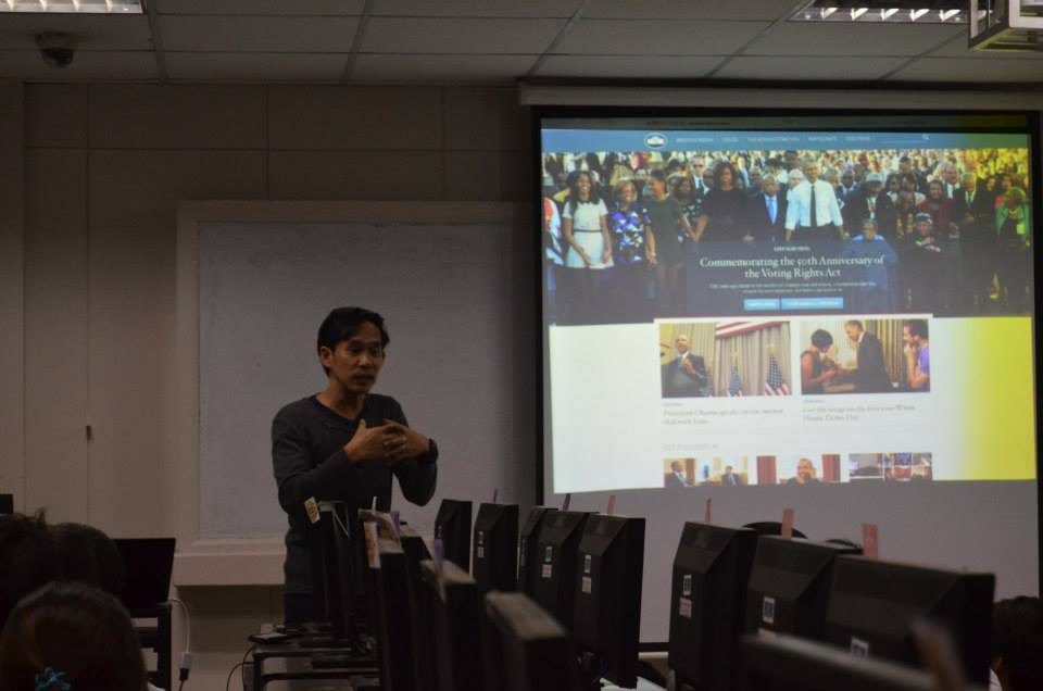 Drupal website seminar for UE Caloocan, participated in by iBuild and Drupal Pilipinas