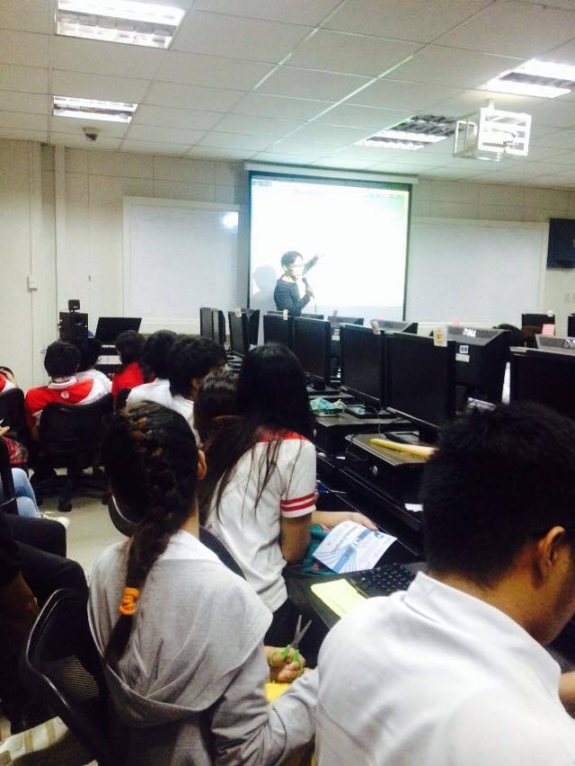 Drupal web design seminar organized by LITS, UE Caloocan, participated in by iBuild and Drupal Pilipinas