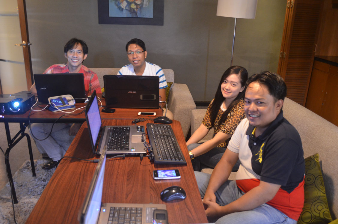 Drupal development training in the Philippines, Metro Manila